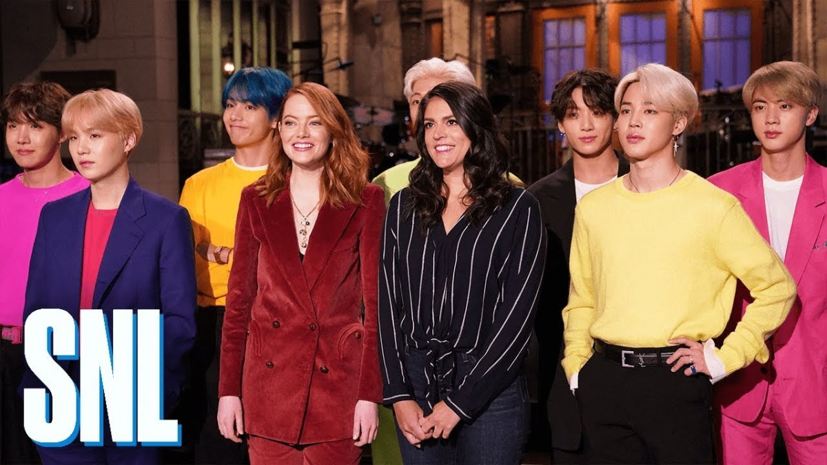BTS Cause an Online Storm with their SNLPerformance